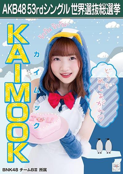 KAIMOOK AKB48 53rdシングル 世界選抜総選挙ポスター